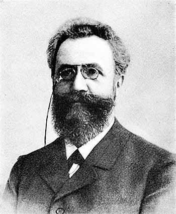 Image of German psychologist and pioneer of memory studies Hermann Ebbinghaus