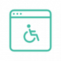 Accessible Browser Icon