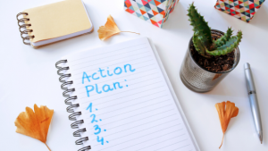 notebook action plan