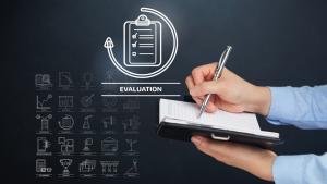 Evaluation hand checklist icon