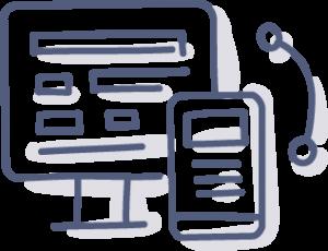responsive design illustration