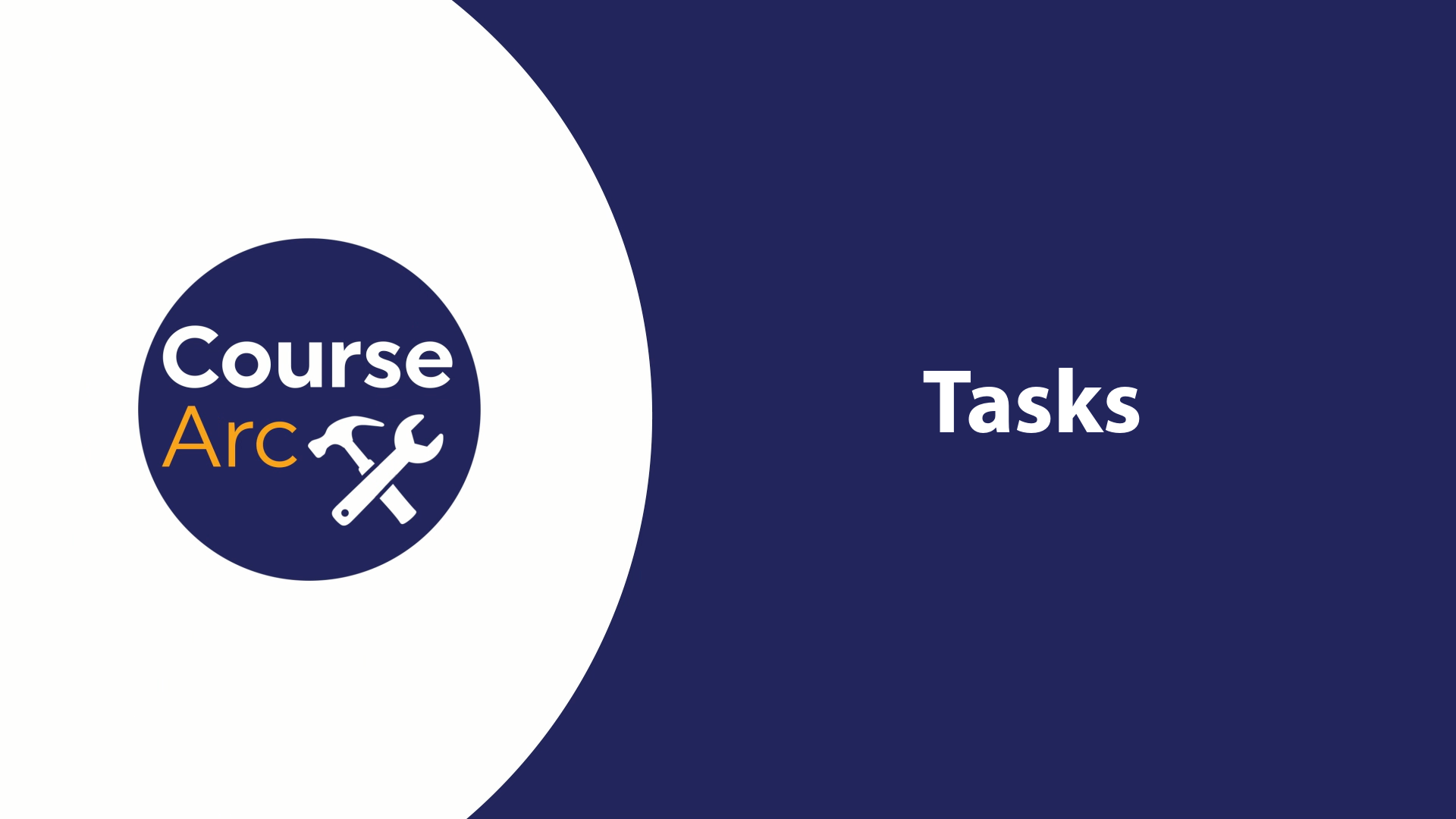 Using Tasks in CourseArc