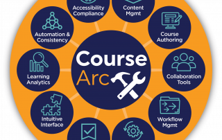 CourseArc features