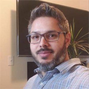 Photo of Rafael Perez, science professor at Madison Area Technical College