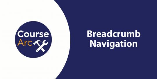 breadcrumb navigation