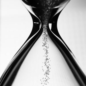Image of an hourglass by Alexander Boden